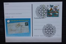 Sonderpostkarte: Int. Briefmarken-Messe Essen 1992; PSo27; Ersttags-Sonderstempel Berlin - Europa-CEPT