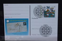 Sonderpostkarte: Int. Briefmarken-Messe Essen 1992; PSo27; Ersttags-Sonderstempel Bonn - Europa-CEPT