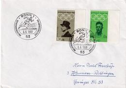 Germany 1968 Cover: Olympic Games 1972 Munich München; Von Langen - Equestrian; Rudolf Harbig, Athletics Running - Sommer 1972: München