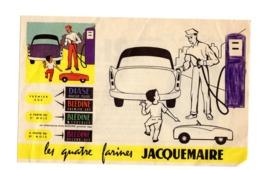 Buvard Farines Jacquemaire Diase Bledine Dessin Voiture Carottes Aliment Infantiles - Food