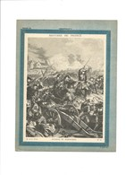 BATAILLE DE NEERWINDEN MARECHAL DE LUXEMBOURG Couverture De Cahier Histoire De France TB 222 X 172  3 Scans Didactique - Protège-cahiers