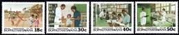 Bophuthatswana - 1990 Community Services Set (**) # SG 231-234 , Mi 231-234 - Bophuthatswana