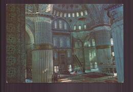 ISTANBUL INTERIEUR DE LA MOSQUEE BLEUE - Islam