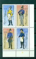 Allemagne - RDA 1986 - Y & T N. 2620/23 - Uniformes Historiques Des Postes (Michel N. 2997/3000) - [6] Oost-Duitsland