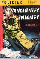 Sanglantes énigmes Par Flanigham - Ferenczi