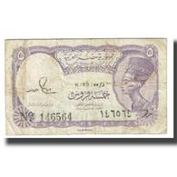 Billet, Égypte, 5 Piastres, L.1940, KM:185, TB - Egypt