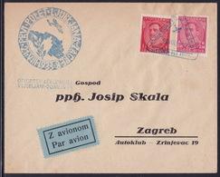 Yugoslavia, Kingdom, 1933, Ljubljana Airport Opening, Airmail Cover - 1931-1941 Kingdom Of Yugoslavia