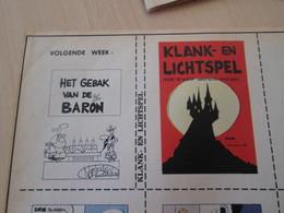 SPITIN20 MINI-RECIT SPIROU Années 60/70 En Hollandais N°??? KLANK EN LICHTSPEL , à Monter Vous Même - Books, Magazines, Comics