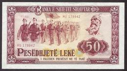 Albania / Shqiptar / Shqiperise - 1976 50 Lek, Pesedhjete Leke, HU 179942 Banknote In Good Conditions - Albania