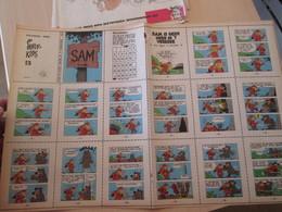 SPITIN20 MINI-RECIT SPIROU Années 60/70 En Hollandais N°513 SAM IS GEEN HEER T VERKEER , à Monter Vous Même - Books, Magazines, Comics