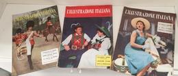 """VENDO N.11 RIVISTE """"L' ILLUSTRAZIONE ITALIANA"""" - Television"""