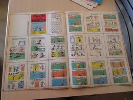 SPITIN20 MINI-RECIT SPIROU Années 60/70 En Hollandais N°??? MARTEN EN ZUN EVENBEELD  , à Monter Vous Même - Books, Magazines, Comics