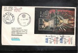 Argentina 1993 Interesting Airmail Letter - Argentina