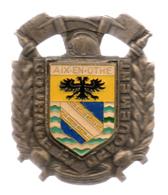 Insigne Des Sapeurs Pompiers D'Aix En Othe - Pompiers