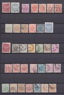 Bosnien Und Herzegowina - 1900/1901 - Sammlung - Gest./Ungebr. - Gebraucht