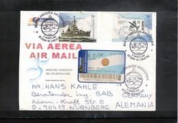 Argentina 2007 Interesting Airmail Letter - Argentina