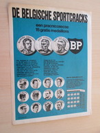 SPITIN20 : BP BRITISH PETROLEUM Médailles DE BELGISCHE SPORTCRACKS Page De SPIROU Années 60/70 - Netherland