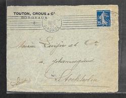 @ Devant De Lettre N° 140 Perfore A.T.C. TOUTON,CROUS & CO  RARE - France