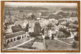 CPSM - EN AVION AU DESSUS DE BONNELLES - SEINE & OISE - 78 - SCANS RECTO VERSO - France