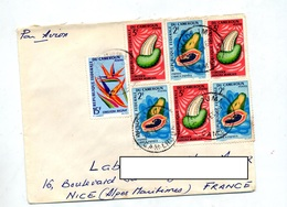 Lettre  Cachet ? Sur Fruit - Cameroon (1960-...)