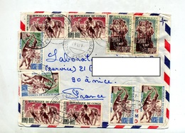 Lettre  Cachet  Brazaville Sur Sport Football Basket - Repubblica Del Congo (1960-64)