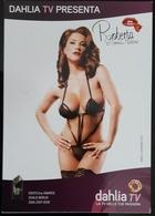 Fahlia TV Sexy Erotic Female Carte Postale - Pin-Ups
