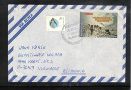 Argentina 1998 Interesting Airmail Letter - Argentina