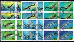 Tansania 1993, Michel # 1583 - 1588 O Haie Im Viererblock - Tanzanie (1964-...)
