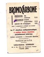 Buvard Bromo Carbone Bromure Charbon Comprimé Laboratoire Leurquin PAris Medicament Pharmacie - Droguerías