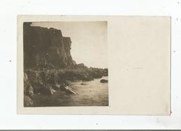 CARTE POSTALE ANCIENNE PHOTO NON SITUEE AVEC FALAISES - Cartes Postales