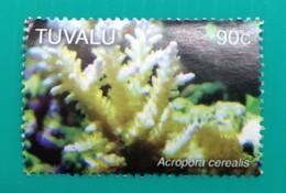 142. TUVALU (90C) USED STAMP MARINE FAUNA - Tuvalu (fr. Elliceinseln)
