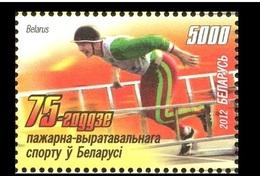 411 - Belarus - 2012 - Firefighting And Rescue Sport - 1v - MNH - Lemberg-Zp - Wit-Rusland