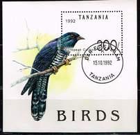 Tansania 1992, Michel # Block 190 O  Common Cuckoo (Cuculus Canorus) - Tanzanie (1964-...)