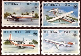 Kiribati 1982 Tungaru Airlines Aircraft Aviation MNH - Kiribati (1979-...)