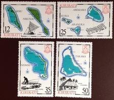 Kiribati 1983 Maps 2nd Series MNH - Kiribati (1979-...)