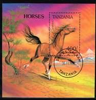 Tansania 1993, Michel # Block 235 O Anglo-Norman (Equus Ferus Caballus) - Tanzanie (1964-...)