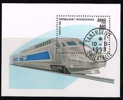 Madagaskar 1993, Michel # Block 238 O Locomotives 1993: TGV - Madagascar (1960-...)