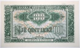 Albanie - 100 Leke - 1957 - PICK 30a - NEUF - Albania