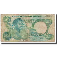 Billet, Nigéria, 20 Naira, KM:26c, TB - Nigeria