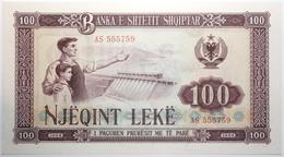 Albanie - 100 Leke - 1964 - PICK 39a - NEUF - Albania