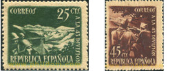 Ref. 209288 * HINGED * - SPAIN. 1938. HOMAGE TO THE 43rd DIVISION . HOMENAJE A LA 43 DIVISION - 1931-50 Unused Stamps