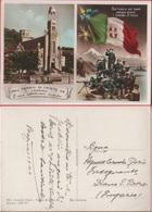 Cristo Re (IM): Cartolina Patriottica.  Viaggiata In Busta. Stampa 1936 - Cartes Postales