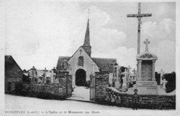 Venefles 35 - L'Eglise Et Le Monument Aux Morts - Francia