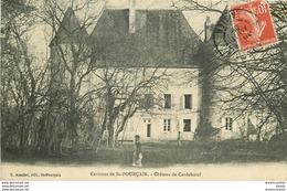 WW 03 SAINT-POURCAIN. Jardinier Au Château De Cordeboeuf 1909 - Frankreich
