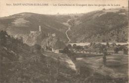 42 - SAINT - VICTOR Sur LOIRE - Les Camaldules Et Grangent Dans Les Gorges De La Loire - France