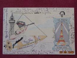CPA - La Tour Eiffel - District 07