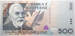 Albanie - 500 Leke - 2001 - PICK 68 - NEUF - Albania