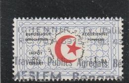 ALGERIE IMPOT DU TIMBRE OBLITERE - Algerien (1962-...)