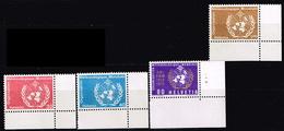 Schweiz 1973, Michel # WMO 10 - 13 ** 100 Years International Meteorological Cooperation - Suisse