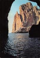 Cartolina Marettimo Isole Egadi Grotta Bombarda - Trapani